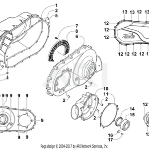 GASKET,CENTRIF CLUTCH COVER,VTWIN (0830-218) #11 IN PICTURE